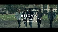 "NEWS:  The official lyric video of ""Who's loving you"" feat Auryn and Anastacia is out now!"