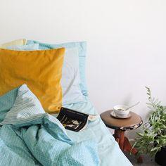 God sovmorgon! Bädda för sommar med Åhléns Mix & Match turkost påslakan 199:- Turkost underlakan 149:- Örngott 49:-/st My Design, House Design, Mix Match, Matcha, Mixer, Home Accessories, Interior, Women, Instagram
