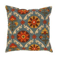 Pillow Perfect Mayan Medallion Throw Pillow in Adobe | Overstock.com Shopping - Great Deals on Pillow Perfect Throw Pillows