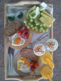 Um bom pequeno-almoço para iniciar o dia!