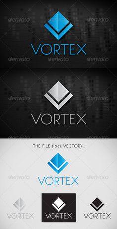Futuristic Logo for $29, Vortex Logo