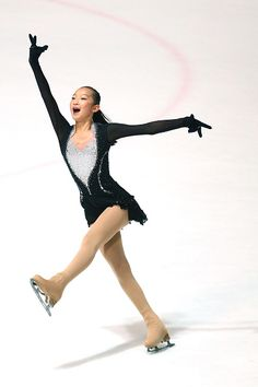 Minglu Zhao of China skates during the junior ladies short dance of the ISU Junior Grand Prix at Dom Sportova on October 8 2015 in Zagreb Croatia