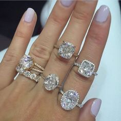 Which would you say Yes to? 💍by @stephaniegottlieb - see them on your 🖐hand in the @beaumade app 📲💍😍 #AboutToSayYes . . . #beaumade #engaged #engagementring #justsaidyes #shesaidyes #bridetobe #futuremrs #ringselfie #ringfie #ringsofinstagram #ringblings #ringbling #bling #blingbling #putaringonit #feyonce #proposal #wedding #bridesmaidproposal #gemhuntrings #justsaidyes #jewelrydesigner #designerjewelry #finejewelry #theknotrings #bridesrings #soloverly #dreamring