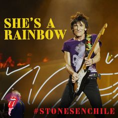 LIKE or PIN for the Stones to play SHE'S A RAINBOW in Chile  Haz clic en ME GUSTA o COMPARTIR para que los Rolling Stones toquen SHE'S A RAINBOW en Santiago