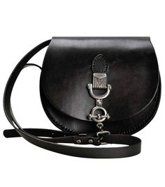 ZLYC Women Vintage Handmade Cowhide Leather Saddle Flapover Mini Shoulder  Bag 48eca7e020823