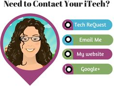 Cute idea to create an interactive Ed Tech calling/contact card using Thinglink for your teachers...