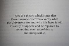 """(1) """"Hitchhiker's Guide to the Universe."""" by Douglas Adams"""