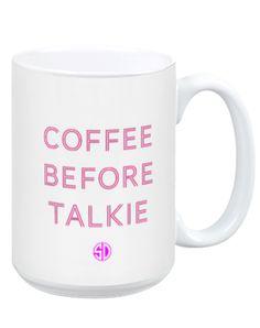 Coffee before talkie... http://rstyle.me/n/nrxhen2bn