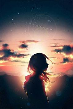 Bazen gökyüzüne dalıp gitmek insanları Neşelendirir..