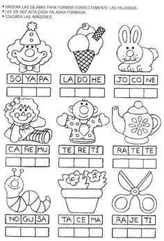 pintar y jugar, dibujos para jugar: actividades para preescolar