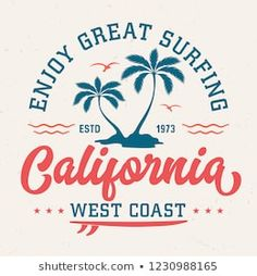 Similar Images, Stock Photos & Vectors of California typography for t-shirt print , vector illustration - 399467506 : Similar Images, Stock Photos & Vectors of California Typography Tshirt Print Vector Illustration - 399467506 T Shirt Logo Design, Tee Design, Vintage Logo Design, Vintage Logos, Retro Logos, Vintage Typography, Photo Wall Collage, Grafik Design, Silhouette Design