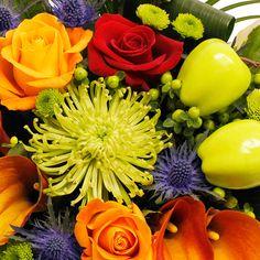 Sunset Luxury Hand-tied Bouquet flowers in beautiful autmumn colours www.eden4flowers.co.uk Hand Tied Bouquet, Bouquet Flowers, Fresh Flowers, Beautiful Flowers, Gifts Delivered, Flowers Delivered, Flower Fashion, Shades, Colours