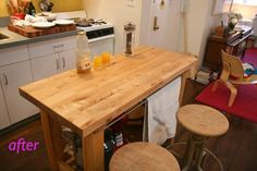 How To Resurface Your Butcher Block Quickly & Well | Apartment Therapy