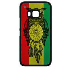 Owl Jamaican Flag HTC Phonecase For HTC One M7 HTC One M8 HTC One M9 HTC One X