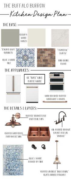 The Burrow Kitchen Design Plan - thewhitebuffalostylingco.com