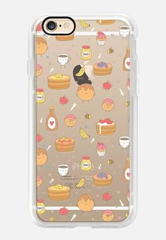 Casetify iPhone 7 Case and Other iPhone Covers - Funny yummy pancakes by Anna Alekseeva #kostolom3000 | #Casetify