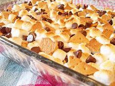 S'mores Brownies, yummy!