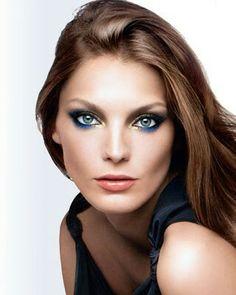 Female Models, Fashion Models, Winter Time, Faces, Feminine, Blue, Girl Models, Women Models, Fashion Templates
