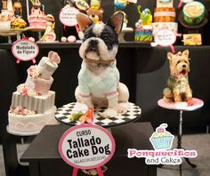 Dog Cake todo completamente comestible!
