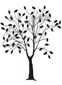 Папка для тиснения Darice - дерево с листьями (листовые дерево) - нажмите на картинку чтобы закрыть