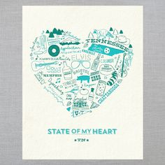 State Of My Heart Art prints