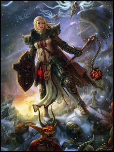 Diablo 3 - The Crusader by Jorsch #Gaming #Art