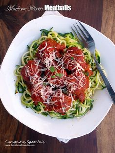 Adapted from Cinnamon, Spice and Everything Nice Real meatballs enhanced with creamy ricotta cheese, sharp parmesan, earthy mushrooms, a bit of spinach and some Italian seasonings, bathed in a nice…