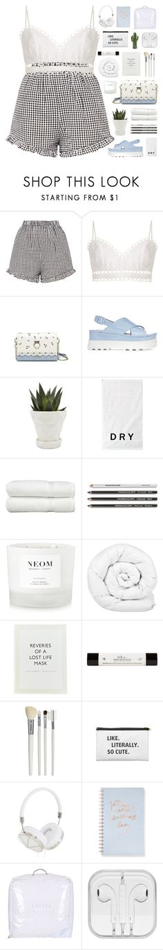 """""""Summer vibes"""" by giulls1 ❤ liked on Polyvore featuring Zimmermann, Miu Miu, Chive, DKNY, Linum Home Textiles, NEOM Organics, Brinkhaus, ...Lost, philosophy and Cath Kidston"""
