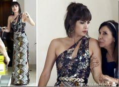 Últimos looks de Paloma e Patrícia em novembro na novela Amor à Vida