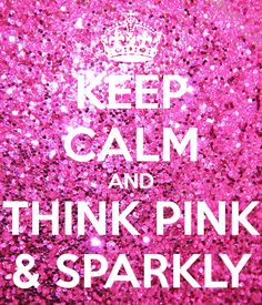 think pink & sparkly all that glitters Color Rosa, Pink Color, Pink Purple, Hot Pink, Pink Zebra, Pink Love, Bright Pink, Pretty In Pink, Pink Quotes