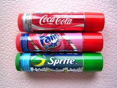 Lipstick With Favorite Flavor #lipsticks, #coke, #sprite, #fanta, https://facebook.com/apps/application.php?id=106186096099420