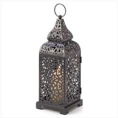 Moroccan Lantern as a possibility for center pieces?