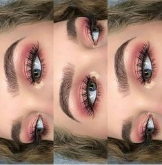 Eye Makeup Tips.Smokey Eye Makeup Tips - For a Catchy and Impressive Look Makeup Eye Looks, Pretty Makeup, Awesome Makeup, Gorgeous Makeup, Perfect Makeup, Cute Eye Makeup, Pink Makeup, Makeup Art, Makeup Ideas