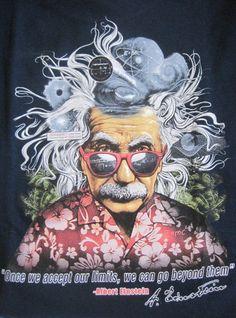 Al's Brain Waves,Einstein,Rick Rietveld,XL,Navy Blue,Legends,Tee Shirt #CoastalClassicsShirts #GraphicTee