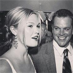 Matt Damon and Julia Stiles