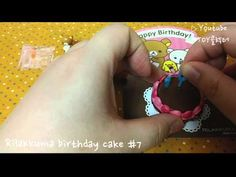 [Re-ment] SAN-X Rilakkuma birthday cake #7 - YouTube Rement, Rilakkuma, Birthday Cake, San, Toys, Youtube, Collection, Activity Toys, Birthday Cakes