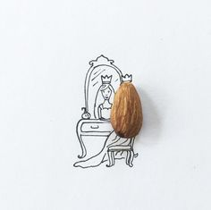 Artist uses small objects to create whimsical designs / Boing Boing