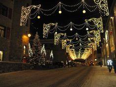 ** Christmas in Saint Moritz, Switzerland