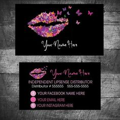 Tips for Creating the Best Business Cards! Lipsense Business Cards, Spa Business Cards, Business Card Maker, Makeup Artist Business Cards, Unique Business Cards, Business Card Design, Makeup Artist Cards, Makeup Artist Logo, Business Hairstyles