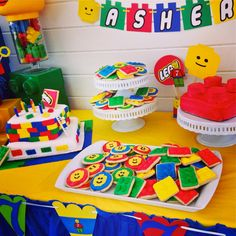 Lego Dessert Pastry Table