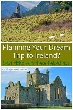Planning a trip to Ireland? Start HERE! This guide includes getting to Ireland (via plane, ferry, or cruise), public tra. Backpacking Ireland, Ireland Travel Guide, Europe Travel Tips, Budget Travel, Travel Guides, Ireland Places To Visit, Ireland Hotels, Ireland Facts, Ireland Culture