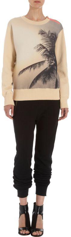 AR Palm Print Sweatshirt
