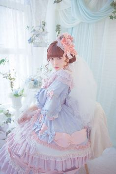 Frillypinkdreams Quirky Fashion, Cute Fashion, Harajuku Fashion, Kawaii Fashion, Mode Lolita, Lolita Style, Pretty Outfits, Cute Outfits, Lolita Cosplay