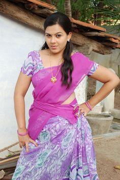 new actress roshini in half saree at b tech babulu telugu