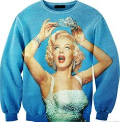 SWEATER: http://www.glamzelle.com/collections/whats-glam-new-arrivals/products/marilyn-monroe-immortal-princess-print-sweater