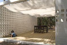 Casa de Bloques La Pedrera / G + Gualano Arquitectos Block House open space