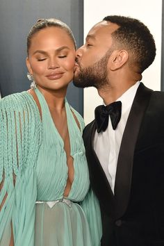 Chrissy Teigen and John Legend's Baby Number 3 Was Unplanned Celebrity Babies, Celebrity Couples, Unexpected Pregnancy, Baby Number 3, Ever And Ever, Pregnancy Test, John Legend, Exciting News, Beautiful One