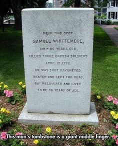The Most Awesome Tombstone You'll Ever See