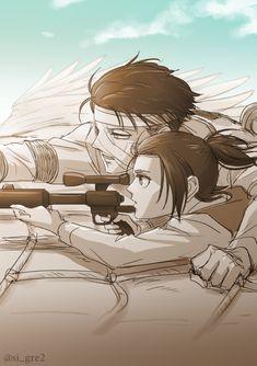 Attack On Titan Series, Attack On Titan Fanart, Attack On Titan Levi, Levi X Eren, Levi Ackerman, Manga Art, Manga Anime, Anime Art, Ereri