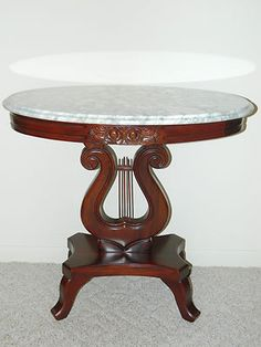 62 best marble top images on pinterest antique furniture